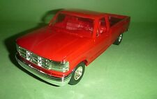 AMT 1992 FORD F-150 PICKUP RED PROMO 1/25 MODEL CAR MOUNTAIN SLOT BODY?