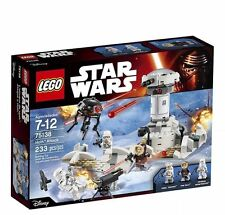 75138 HOTH ATTACK lego set NEW star wars legos HAN SOLO snowtrooper empire esb
