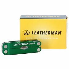Leatherman MICRA Keychain Multi-tool - GREEN #64350101K
