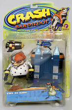 CRASH BANDICOOT DR N GIN Action Figure Series 2 Resaurus 1999 NEW! RARE!