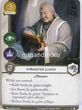 A Game of Thrones 2.0 LCG - 1x maestro Luwin #003 - taking the Black-Second