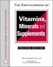 Encyclopedia of Vitamins, Minerals, and Supplements (Facts on File Lib-ExLibrary