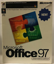 Microsoft Office 97 Standard Edition With Book In Original Box...