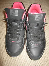 Nike Black and Pink Air Max Sneakers Ladies Women Size 9 shoes