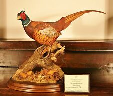 "Country Artist ""Autumn Spendour""by Keith Sherwin 93/350 Pheasant RARE"