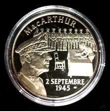 Médaille Seconde Guerre Mondiale 39-45 - Mac Arthur - Croix de Lorraine