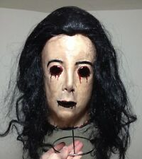 Creepy Female Bloody Mask Horror Movie Scary Halloween Zombie Clown Vampire