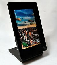 Dell Venue 8 Pro Black Acrylic Desktop Stand for POS, Kiosk, Show Store Display