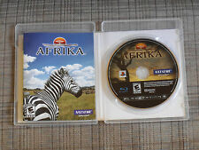 Afrika (Sony Playstation 3, 2009) *Game Disc Very Good Condition* **US Version**