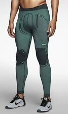 Nike Pro Hyperwarm Flex Men's Tights Green/Turquoise 624870-364 MSRP $130 LARGE