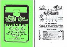Stanley 444 Dovetail Plane Manual