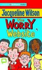 The Worry Website by Jacqueline Wilson (2016, CD, Unabridged)