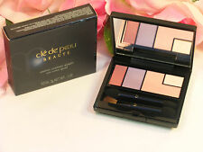 New Shiseido Cle De Peau Beaute Eye Shadow Color Quad #11 Pink Shimmer Highlighs