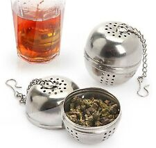 Tea ball Loose Tea Leaf Strainer Herbal Spice Infuser Filter Diffuser green mesh