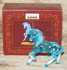 """TRAIL OF PAINTED PONIES Snow Queen Ornament Giftboxed~FROZEN~2.5""""Tall~Christmas~"""
