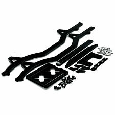 Axial Chassis Alu Rock RC 1/10 Crawler für Land Rover D90 Buggy Schwarz