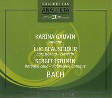 Notes Carnet des Anna Magdalena Bach-Knudsen, Beausejour, Istomin/CD