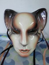 Foxy Feline Cat Woman Mask by ABOUT FACE A Division of Clay Art of San Francisco