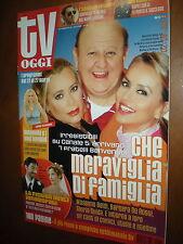 Tv Oggi.GLORIA GUIDA, MASSIMO BOLDI, BARBARA DE ROSSI,kkk