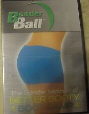 Bender Ball The Bender Method of Better Booty Boot Camp Workout Fitness DVD