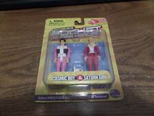 DC Pocket Heroes Cosmic Boy & Saturn Girl Action Figure set MIP NEW TV LOSH