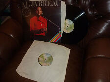 "Al Jarreau, Live Look to the Rainbow, Jazz, WB K66059, UK England 2 LP, 12"" 1977"