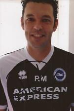 BRIGHTON: RUBEN MARTINEZ SIGNED 6x4 PORTRAIT PHOTO+COA