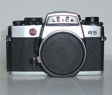 Leica R5 chrome in virtually Mint condition