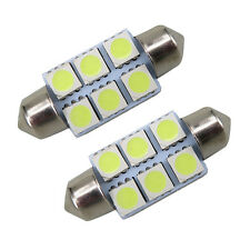 12V White Dome LED 6 SMD 31mm C5W Car Interior Bulb Light Lamp 7hk
