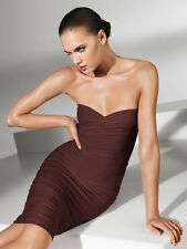 WOLFORD FATAL TUBE DRESS in Java Brown, Size: M  Ret:$215 New in Box/Tags