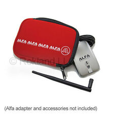 Alfa U-Bag red soft neoprene carry case/holder for WiFi adapters, digital camera