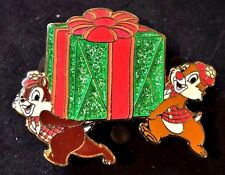 Disney Pins - HKDL - Magic Access Exclusive Christmas Pin Chip and Dale - LE 300