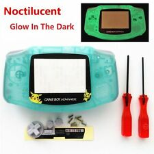 GBA Nintendo Game Boy Advance Replacement Housing Shell Glow in The Dark Pikachu