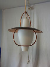 Mid Century 50er 50´s Decken Lampe Ceiling Lamp  Maison Arlus or Style #