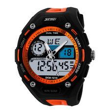Skmei SHOCK Sports Waterproof Military Watch Quartz Analog Digital Wristwatch