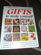 Better Homes and Gardens Gifts to Make Yourself 1972, First Print, HC VGC++