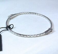 New John Hardy Dragon Bangle Bracelet Sterling Silver Size Medium $395