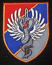 "Serbia Serbian Military Police Special Operation Battalion ""Cobras"" Patch"