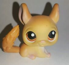 Littlest Pet Shop Tan Brown Chinchilla #340 Preowned LPS Ships With Tracking!