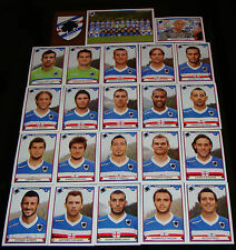 FIGURINE CALCIATORI PANINI 2010-11 SQUADRA SAMPDORIA CALCIO FOOTBALL ALBUM