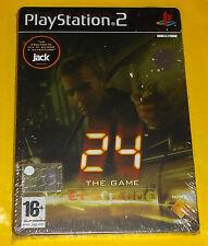 24 THE GAME Ps2 Versione Ufficiale Italiana Confezione in Metallo ○○○○○ NUOVO