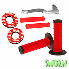 RFX Handle Bar Grips Donuts & Silicone Lever Sleeves Beta RR 250 300 350 390 430