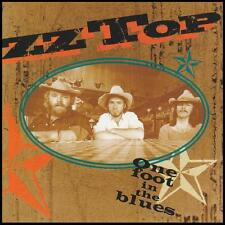 ZZ TOP - ONE FOOT IN THE BLUES CD Album ~ BILLY GIBBONS 70's / 80's *NEW*