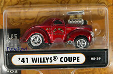 Muscle Machines 1941 Willys 41 Coupe Big John Mazmanian  NHRA Hot Rod 1:64 Scale