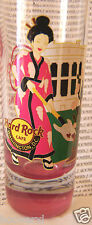 2013 HARD ROCK WASHINGTON DC CHERRY BLOSSOM/WHITE HOUSE/GEISA GIRL SHOT GLASS