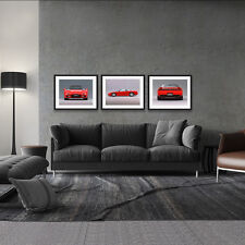 ACURA NSX HONDA V-TEC AUTOMOTIVE LARGE 3 HD POSTER PACKAGE 18x24in