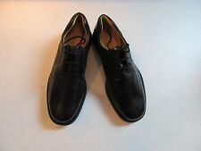 $145 New in Box Jos A Bank traveler black leather shoe CHESTER size 10.5