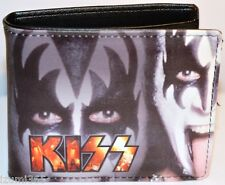 New Men's  Bi-fold Kiss Wallet-synthetic Leather (Kiss-001)
