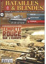 BATAILLES & BLINDES N°52 TEMPETE ROUGE SUR L'EUROPE / SEDAN 1940 / ARMEE RUSSE