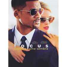 FOCUS - NIENTE E' COME SEMBRA (DVD) CON WILL SMITH E MARGOT ROBBIE